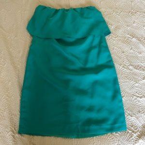Zara Basic Strapless Dress, Size Small